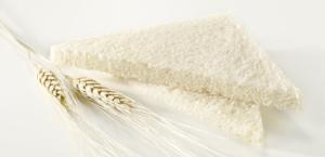 pane per tramezzini senza crosta